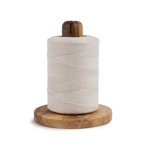 Berard Olive-Wood Handcrafted Twine Holder and Cutter