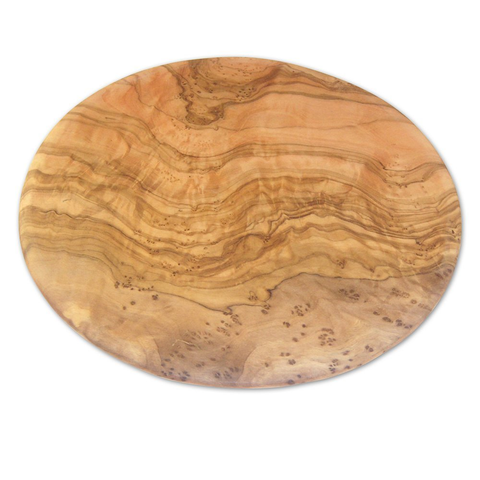 Berard Olive-Wood Handcrafted Round Cutting Board