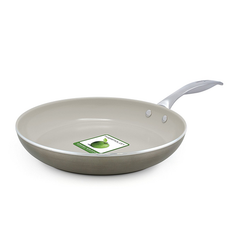 GREEN PAN TRISHA YEARWOOD 10'' OPEN FRYPAN - TITANIUM