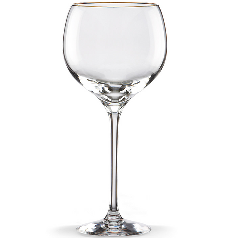 LENOX ETERNAL GOLD SIGNATURE GOBLET - CLEAR