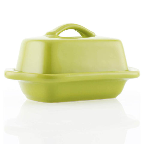 Chantal Mini 5'' Butter Dish - Olive Green