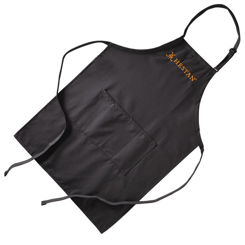 HESTAN NANOBOND APRON WITH CENTER DIVIDED POCKET, GRAY