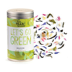Let's Go Green - Jasmine Tea - forteassake  - 1