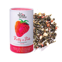 Pretty In Pink - Oolong & Green Tea - forteassake  - 1