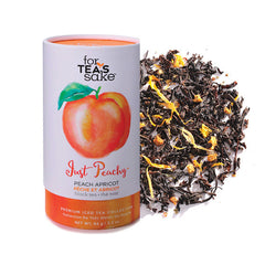 Just Peachy - Black Tea - forteassake  - 1