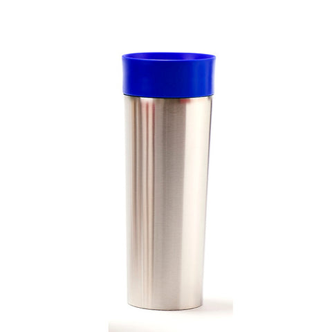 Blue Stainless Steel Travel Mug with Infuser - forteassake