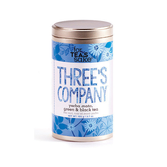 Three's Company - Green, Black & Yerba Mate Tea - forteassake  - 2