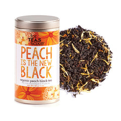 Peach Is The New Black - Black Tea - forteassake  - 1
