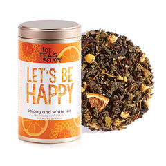 Let's Be Happy - Oolong & White Tea - forteassake  - 1