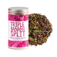 Triple Banana Split - Roobois, White & Black Tea - forteassake  - 1