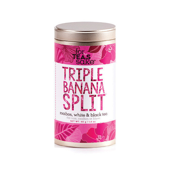 Triple Banana Split - Roobois, White & Black Tea - forteassake  - 2