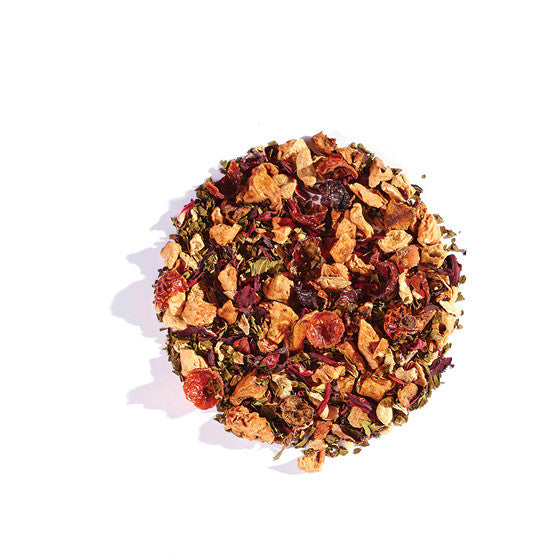 Hibiscus Mint - Herbal Tea - forteassake  - 4