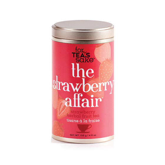 The Strawberry Affair - Herbal Tea - forteassake  - 2