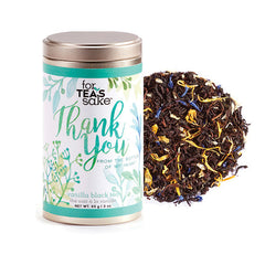 Thank You - Vanilla Black Tea - forteassake  - 1