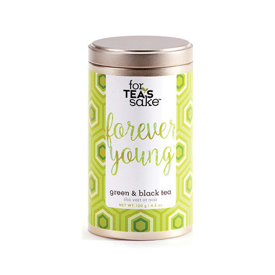 Forever Young - Black & Green Tea - forteassake  - 2