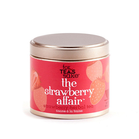 The Strawberry Affair - Herbal Tea - forteassake  - 3