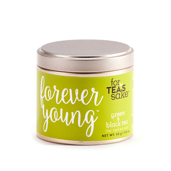 Forever Young - Black & Green Tea - forteassake  - 3