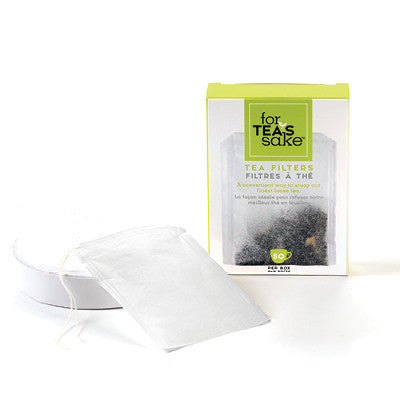 Tea Filter Bags - 50 Set - forteassake