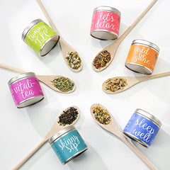 Wellness Teas Gift Set - Small Tins - forteassake