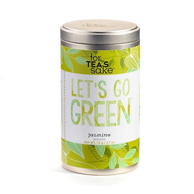 Let's Go Green - Jasmine Tea - forteassake  - 2