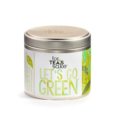 Let's Go Green - Jasmine Tea - forteassake  - 3
