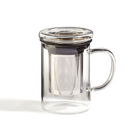 Glass Infuser Mug - forteassake