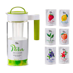 Pitcher Portion Bundle With Infuser Pitcher - forteassake