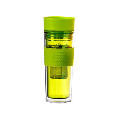 Green Travel Mug With Infuser - forteassake  - 1