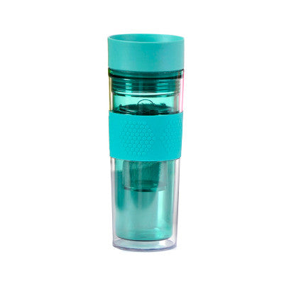 Blue Travel Mug With Infuser - forteassake  - 1