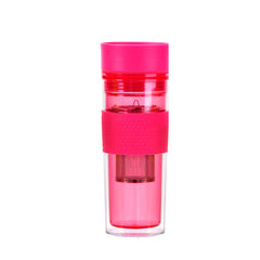 Pink Travel Mug With Infuser - forteassake  - 1
