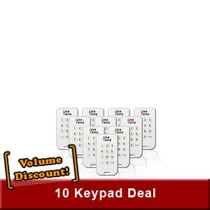 10-Pack of Live-Tally Keypads
