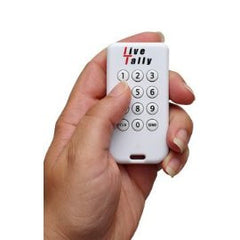 Live-Tally Voting System with 50 Keypads