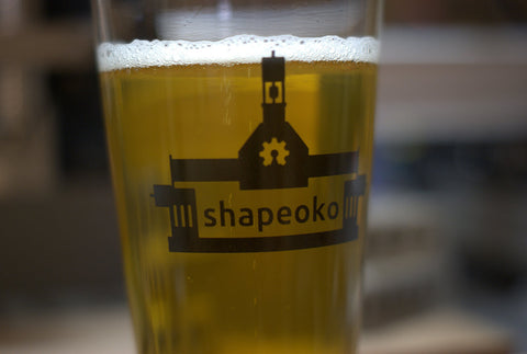 Shapeoko Pint Glass