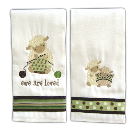Up~Chuckies Burp Cloths ~ SURPRISE