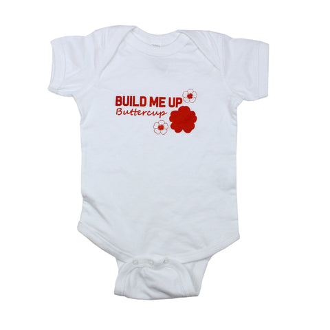 Build Me Up Buttercup Bodysuit and Tee