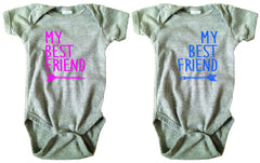 My Best Friend Bodysuit and Tee Set - O Baby! Brands  - 2
