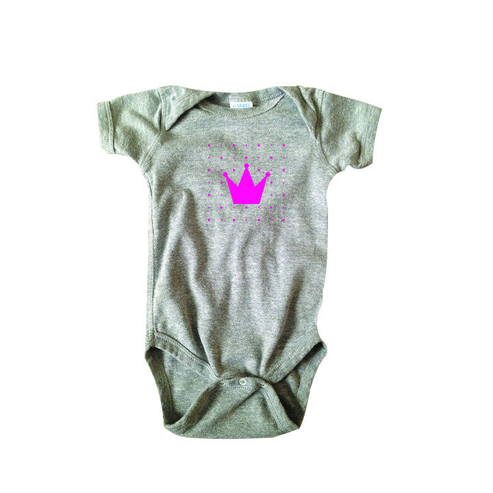 Crown Bodysuit and Tee - O Baby! Brands