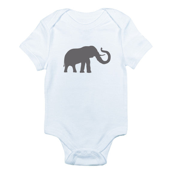 Elephant Bodysuit and Tee - O Baby! Brands