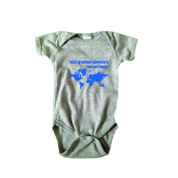 Greatest Adventure Bodysuit and Tee - O Baby! Brands