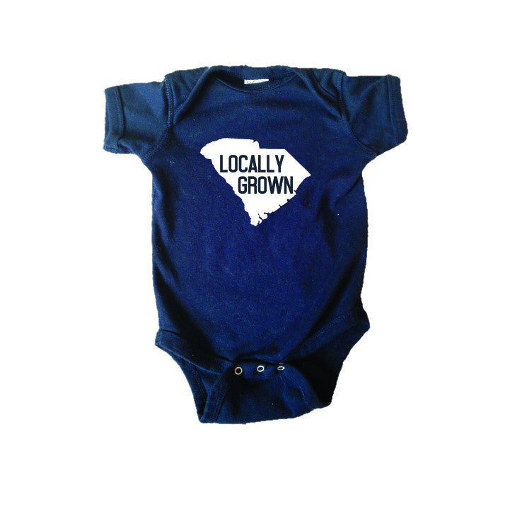 Locally Grown South Carolina Bodysuit and Tee - O Baby! Brands