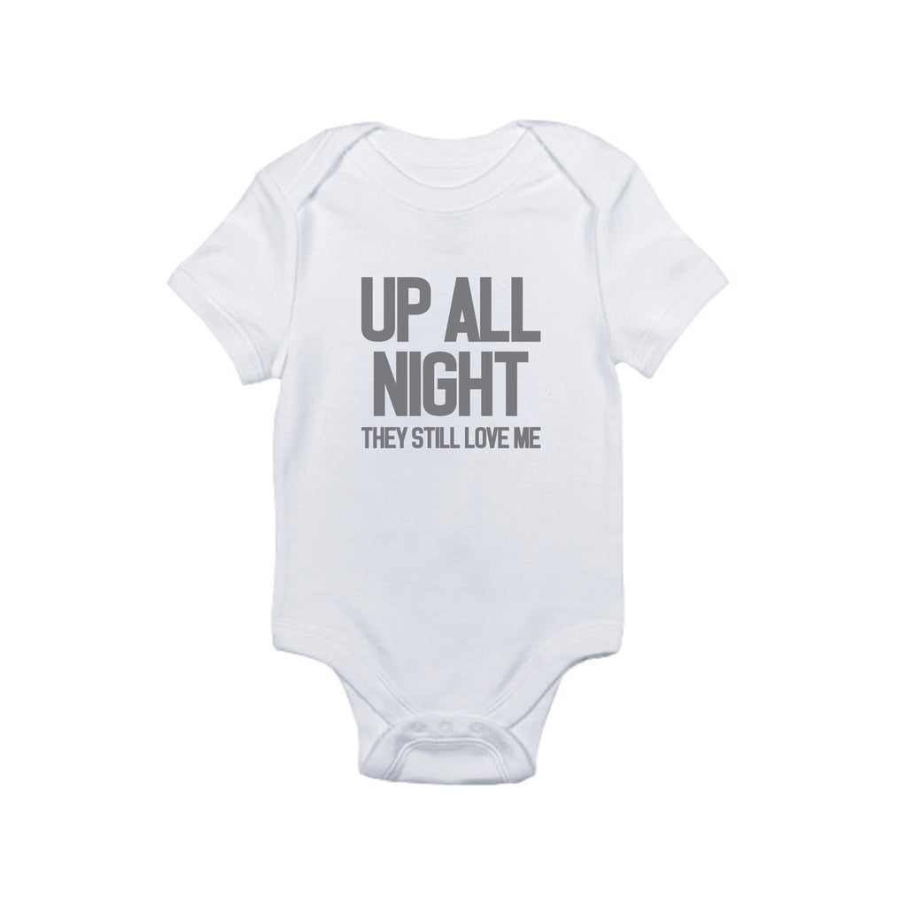 Up All Night Bodysuit and Tee - O Baby! Brands  - 1