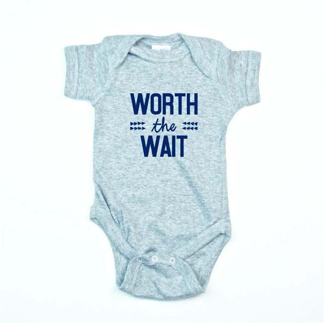 Worth the Wait Bodysuit and Tee - O Baby! Brands