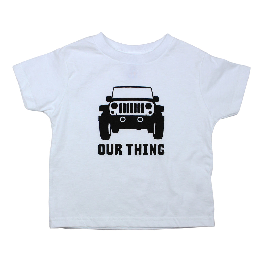 Jeep Bodysuit and Tee - O Baby! Brands  - 1