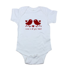 Love is All You Need Bodysuit and Tee - O Baby! Brands  - 1