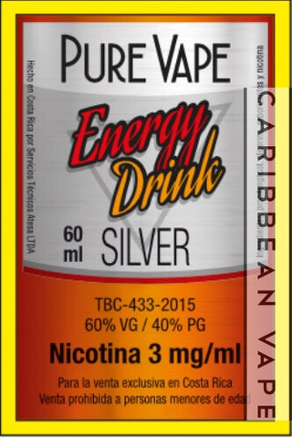 PV Silver Energy Drink
