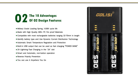 GOLISI 02 Charger