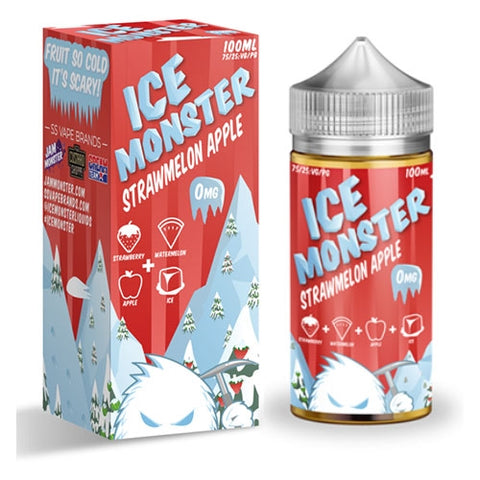 JAM MONSTER  - STRAWMELON APPLE - 100ML
