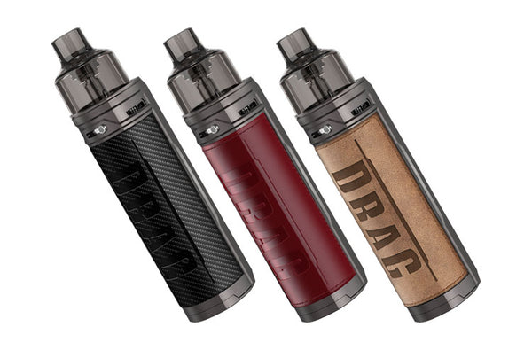 VOOPOO Drag X Pod Mod Kit 80W USA 1 CELDA 18650 (no incluye bateria)