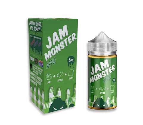 JAM MONSTER  - APPLE - 100ML