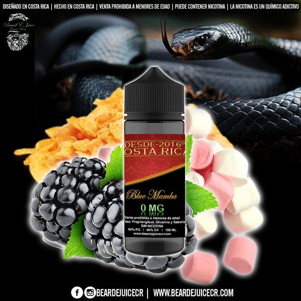 Beard eJuice No36 Blue Mamba